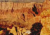 Geologic strata (photo copyrighted) (Courtesy of Films for Christ).