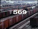 Railroad stock cars. Copyrighted, Films for Christ.