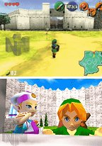 Screen Captures from 'Legend of Zelda'
