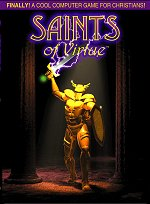 Saints of Virtue front cover. Illustration copyrighted.