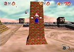 Screen Capture from 'Super Mario 64'