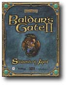 Box art for 'Baldurs Gate 2: Shadows of Amn'