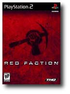 Box art for 'Red Faction'