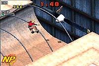Screenshot from 'Tony Hawks Pro Skater 2' for GBA