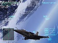 Screenshot from 'Ace Combat 04'