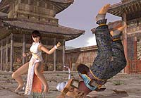 Screenshot from 'Dead or Alive 3'