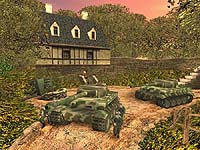 Screenshot from 'Medail of Honor Allied Assault'