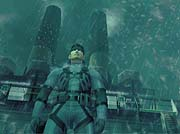 Screenshot from 'Metal Gear Solid 2'