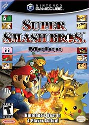 Super Smash Bros. Melee - box art