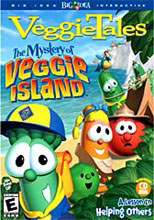 Mystery of Veggie Island, A VeggieTales Game.  Illustration copyrighted.