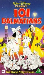 Cover Graphic from 101 Dalmatians