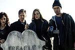 "Erica Leerhsen, Stephen Barker Turner, Tristen Skyler, and Jeffrey Donovan in ""Book of Shadows: Blair Witch 2"""