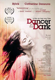 Dancer in the Dark poster. Copyrighted