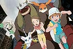 Scene from Digimon: The Movie