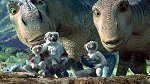 "Dinosaurs and Lemurs living together in ""Dinosaur"""