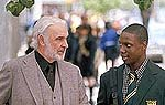 "Sean Connery and Rob Brown in ""Finding Forrester"""