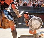 Scene from Gladiator (photo copyrighted by Dreamworks SKG).