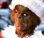 "Jim Carrey in ""How The Grinch Stole Christmas"""