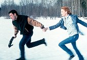 "Ben Affleck and Charlize Theron in ""Reindeer Games"""