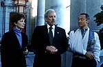 "Anne Archer, Donald Sutherland and Cary-Hiroyuki Tagawa in ""The Art of War"""