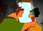 "Pacha and Chicha in ""The Emperor's New Groove"""
