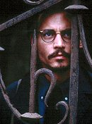 "Johnny Depp in ""The Ninth Gate"""