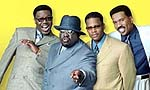 "Bernie Mac, Cedric the Entertainer, D.L. Hughley and Steve Harvey in ""The Original Kings of Comedy"""