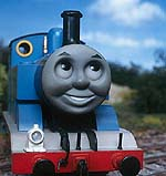 "Thomas the Tank Engine in ""Thomas and the Magic Railroad"""
