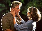 "Gary Busey as detective Tom Canboro and Sherry Miller as his wife Suzie in ""Tribulation"""