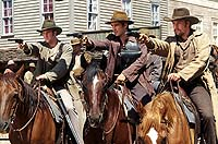 "Scene from ""American Outlaws"""