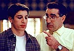 "Jason Biggs and Eugene Levy in ""American Pie 2"""