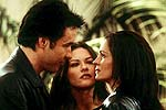 "John Cusack, Catherine Zeta-Jones, and Julia Roberts in ""America's Sweethearts"""