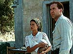 Nicolas Cage and Penelope Cruz in Captain Corellis Mandolin