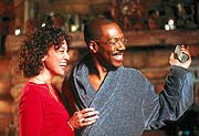Kristen Wilson and Eddie Murphy in Dr. Dolittle 2