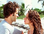 Jason Lee and Jennifer Love Hewitt in Heartbreakers
