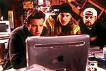 "Ben Affleck, Jason Mewes, and Kevin Smith in ""Jay and Silent Bob Strike Back"""
