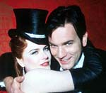 "Nicole Kidman and Ewan McGregor in ""Moulin Ridge"""