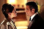 Julia Roberts and George Clooney in Oceans Eleven