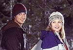 "Jason London and A.J. Cook in ""Out Cold"". Photo copyright Touchstone Pictures."