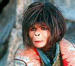 "Helena Bonham Carter in ""Planet of the Apes"""