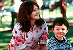 "Drew Barrymore and Cody Arens in ""Riding in Cars With Boys"""