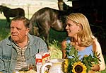 "Pat Hingle and Julie Condra in ""Road to Redemption"""