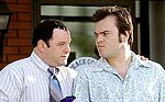 "Jack Black and Jason Alexander in ""Shallow Hal"""
