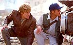 Robert Redford and Brad Pitt in Spy Game