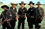"Usher Raymond, Ashton Kutcher, James Van Der Beek, Dylan McDermott and Robert Patrick in ""Texas Rangers"""