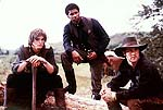 "Ashton Kutcher, Usher Raymond and James Van Der Beek in ""Texas Rangers"""