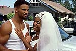 "Shemar Moore and Susan Dalian in ""The Brothers"""