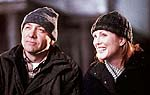 "Kevin Spacey and Julieanne Moore in ""The Shipping News"""