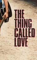 Portion of box art for The Thing Called Love