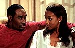 Morris Chestnut and Vivica A. Fox in 'Two Can Play That Game'